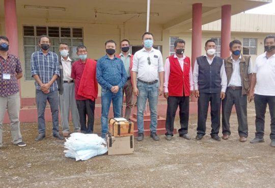 Yanseo Sangtam visits Pungro