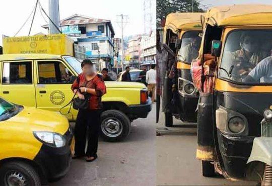 taxis autorickshaws