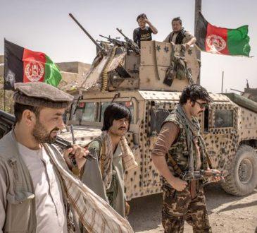 Afghans battle