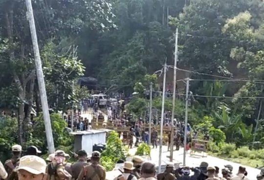 Mizor Assam border