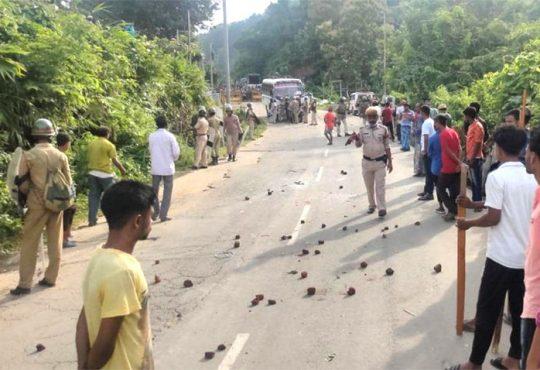 Mizoram Assam violence
