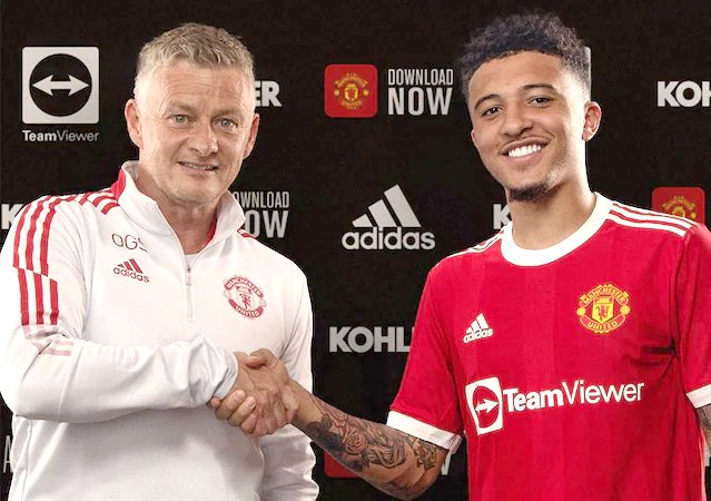 United sign Jadon