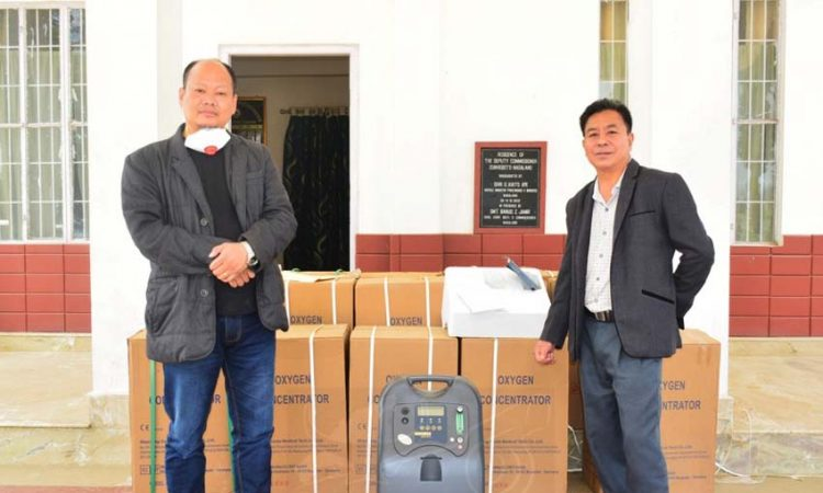 Zunheboto district received a consignment from United Way India