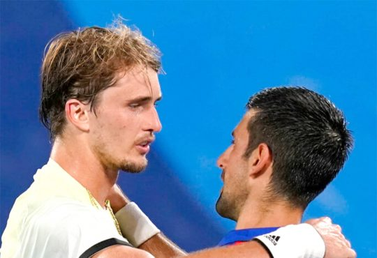 Zverev ends Novak