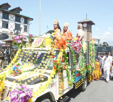 Janmashtami procession