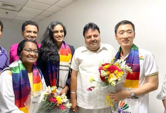 PV Sindhu returns