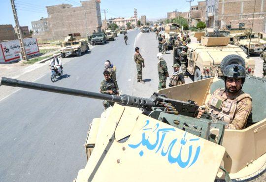 Taliban advance