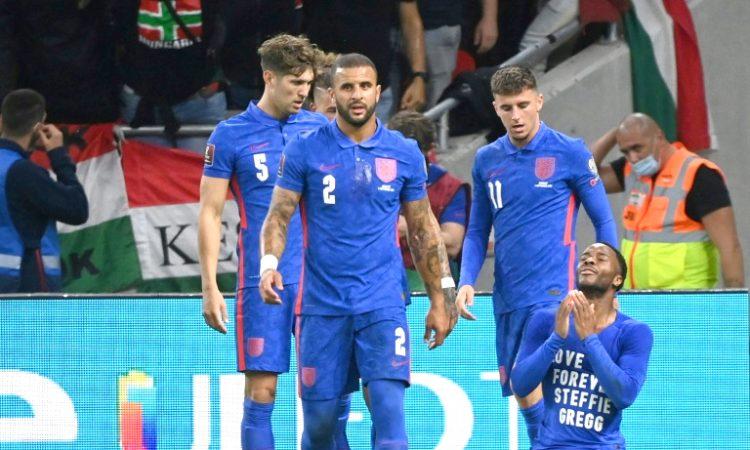 England crush Hungary