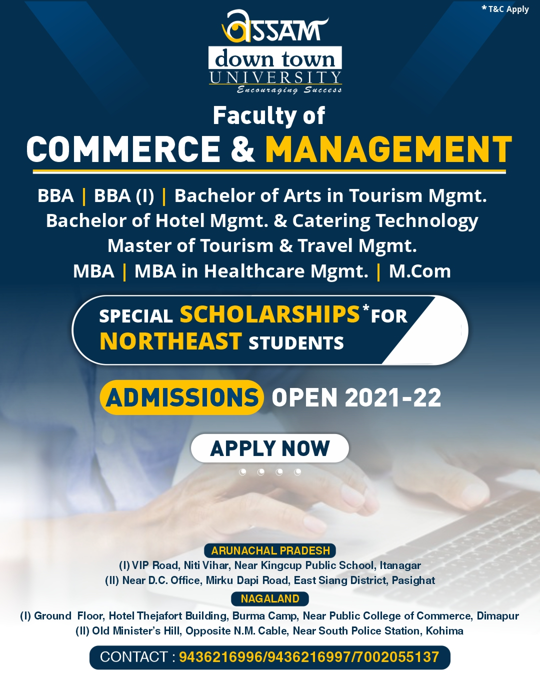 Down Town University - Admission Open