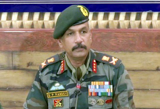 Lt Gen D P Pandey