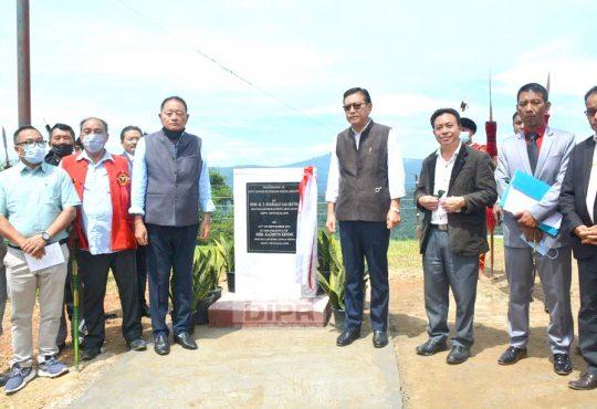 Sukhalu inaugurates newly upgraded GHSS Akuluto
