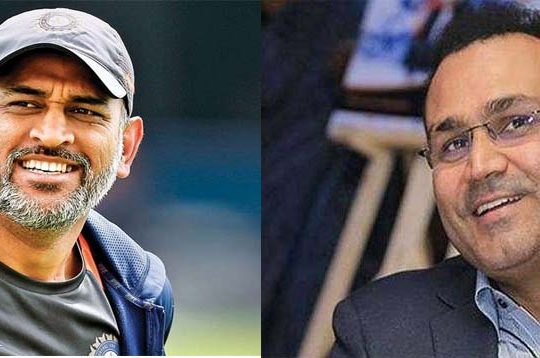 dhoni sehwag